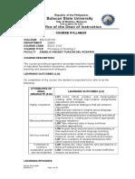 Principles of Teaching 2 ISO 2019 Syllabus