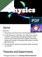 Physics Week 1