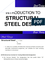 1 Introduction to Steel Design