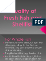 Quality of Fish