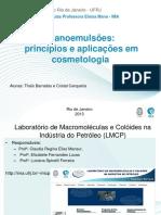 29 10.30 Nanoemulsões.princípios e Aplica