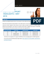 Data Domain Monthly Support Highlights May 2019