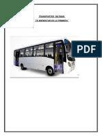Bus Nocturno arequipa