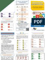Folheto de Sinalização de Segurança.