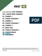 BODYCOMBAT 80 (BODYCOMBAT80ChoreographyNotes Row en App Print.pdf)