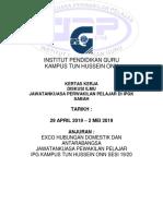 Kertas Kerja Benchmark Sabah Terkini