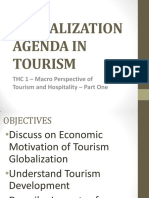 Globalization Agenda in Tourism - Hand-out No. 1