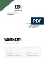 Wavekit API for log generation.pdf