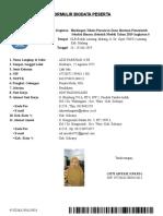 Biodata Registrasi  denok, S.Pd.SD.doc