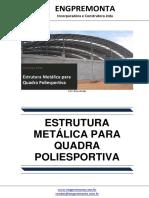 Estrutura Metálica Para Quadra Poliesportiva