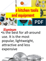 Utilize kitchen tools and equipment in Commercial Cooking.pptx