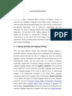 Language Planning Makalah Edited