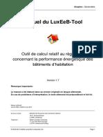 Manuel du LuxEeB-Tool