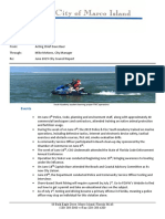 MIPD June report to Marco Island City Council