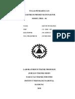 Cover Tugas Pendahuluan Laboratorium Teknik Produksi Itenas
