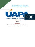 Tarea 3 de Fundamento Del Curriculo Dominicano