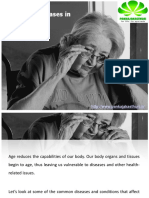Common Diseases in Old Age
