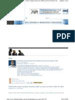 Publicando Cubos Analysis Services 2005 Na Web Com Pivot Table Do OWC