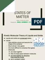 Liquids and Solids