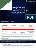 ThingsBoard PE SLA Plans
