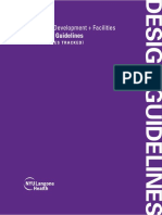 2019 Nyu Langone Design Guidelines With Changes Tracked Rev