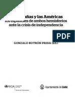 Butron Prida Gonzalo - Las Españas Y Las Americas
