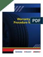Warranty Claim Procedure Manual