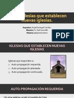 Iglesias Que Establecen Nuevas Iglesias