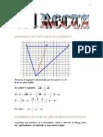 Matematicas Resueltos (Soluciones) La Recta Nivel II 1º y 2º Bachillerato
