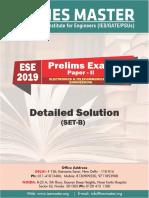 ESE 2019 Prelims Electronics & Telecommunication Engineering Detailed Solution SET B