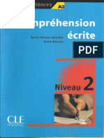 Comprehension Ecrite 2