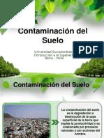 Contaminacion Del Suelo - Introduccion.