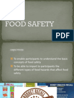 Food Safety Presentation