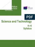 Science syllabus