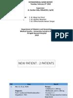 FETOMATERNAL WARD REPORT 6 feb 2 pat.pptx