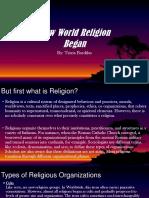 How World Religion Began
