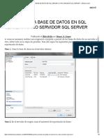 EXPORTAR UNA BASE DE DATOS EN SQL SERVER A OTRO SERVIDOR SQL SERVER – VIDELCLOUD.pdf