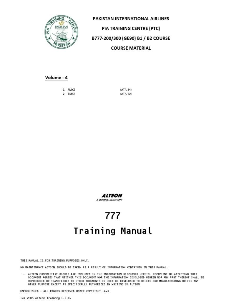 B777 Vol 4 ATA 34 ATA 22 Reviewed Nov 2018