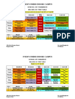Time-Table - BBA 3rd Semester