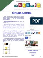 Potencia Electrica