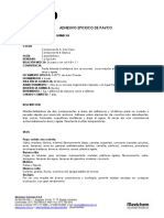 Ficha Adhesivo Epoxico Pavco