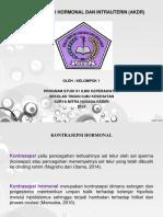 KONTRASEPSI HORMONAL DAN INTRAUTERIN (AKDR)