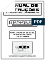 Manual Modulo de Som AB2500