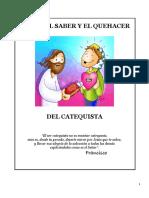 El Ser y Que Hacer Del Catequista, Taller de Cat