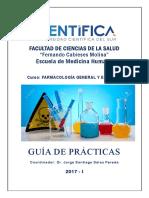 Guia de Practica Farmacologia General y Especial_2017-I
