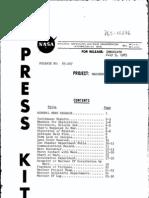 Mariner IV Mars Encounter Press Kit