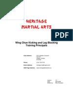 Kicking Training Principals v1
