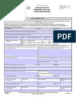 Immigrant Visa Application Form DS 230