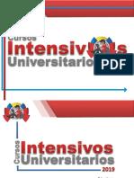 Cursos Intensivos PresentacionCIU2019-2