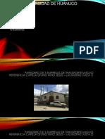 paraderos en la ciudad de huanuco informales